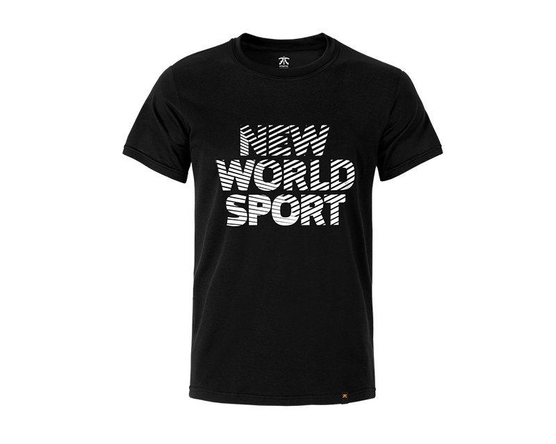 New World Sport - Premium T Black i gruppen Kläder / Team store / Fnatic hos MaxGaming (10142)