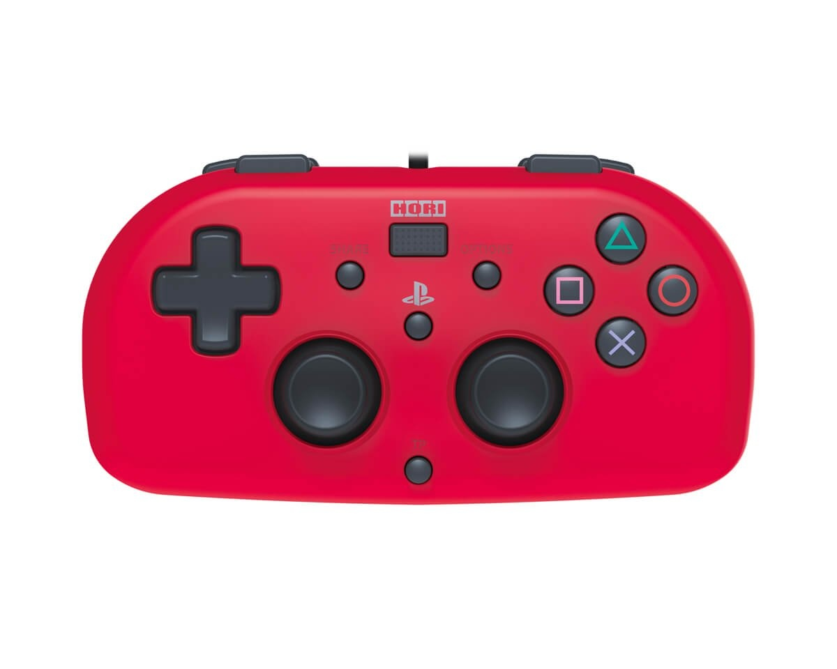 Mini Gamepad PS4  Röd i gruppen Konsol / Playstation / PS4 Tillbehör / Handkontroll hos MaxGaming (11654)