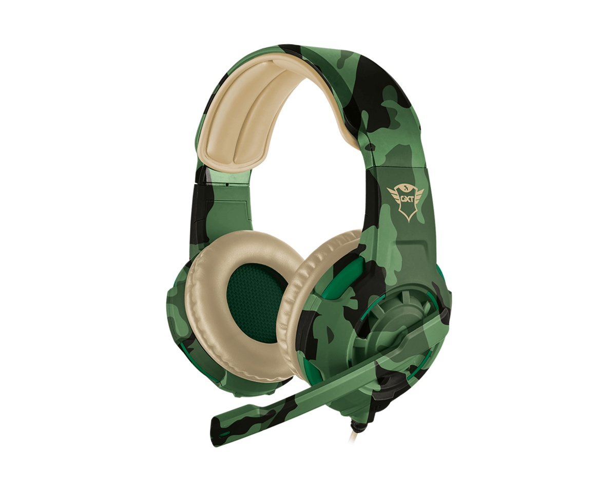 GXT 310C Radius Gamingheadset Jungle Camo i gruppen Konsol / Xbox / Xbox One Tillbehör / Headsets hos MaxGaming (12940)