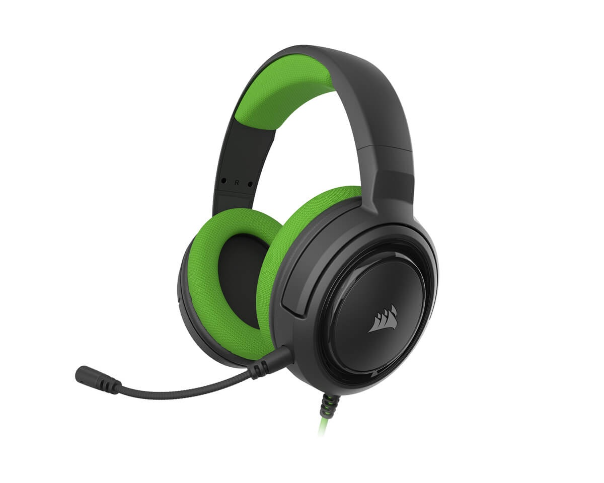 Gaming HS35 Stereo Gamingheadset Grön i gruppen Konsol / Xbox / Xbox One Tillbehör / Headsets hos MaxGaming (14739)