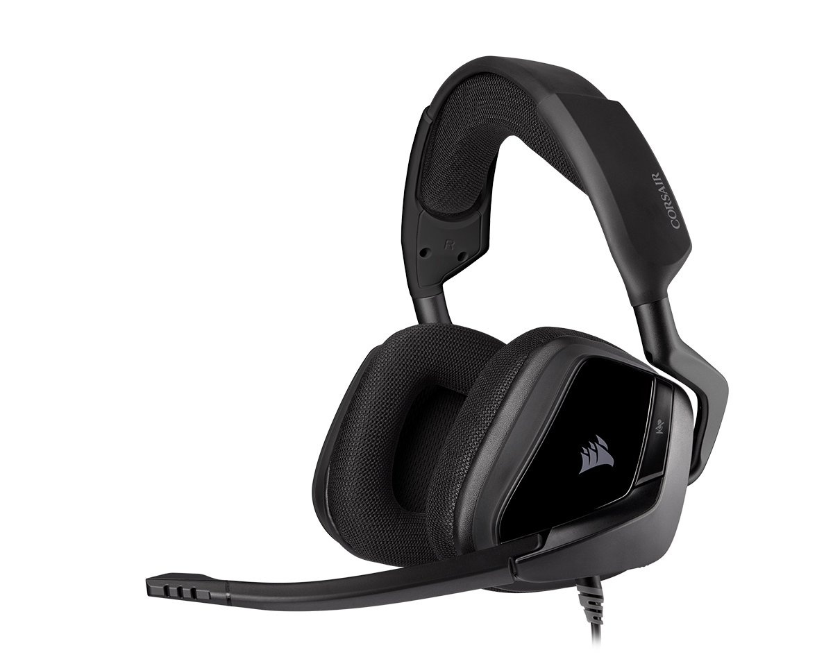 VOID ELITE Surround Premium Gaming Headset 7.1 - Carbon i gruppen Datortillbehör / Headset & Ljud / Gaming headset / Trådbundna hos MaxGaming (15290)
