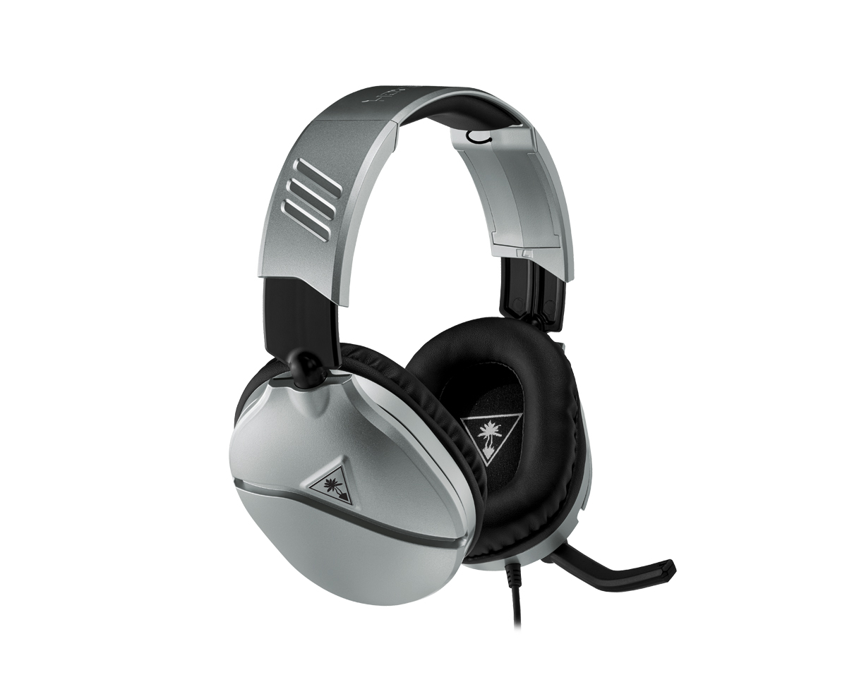 Recon 70 Gaming Headset Silver (PS4/XBOX ONE/PC/SWITCH) i gruppen Datortillbehör / Headset & Ljud / Gaming headset / Trådbundna hos MaxGaming (97)