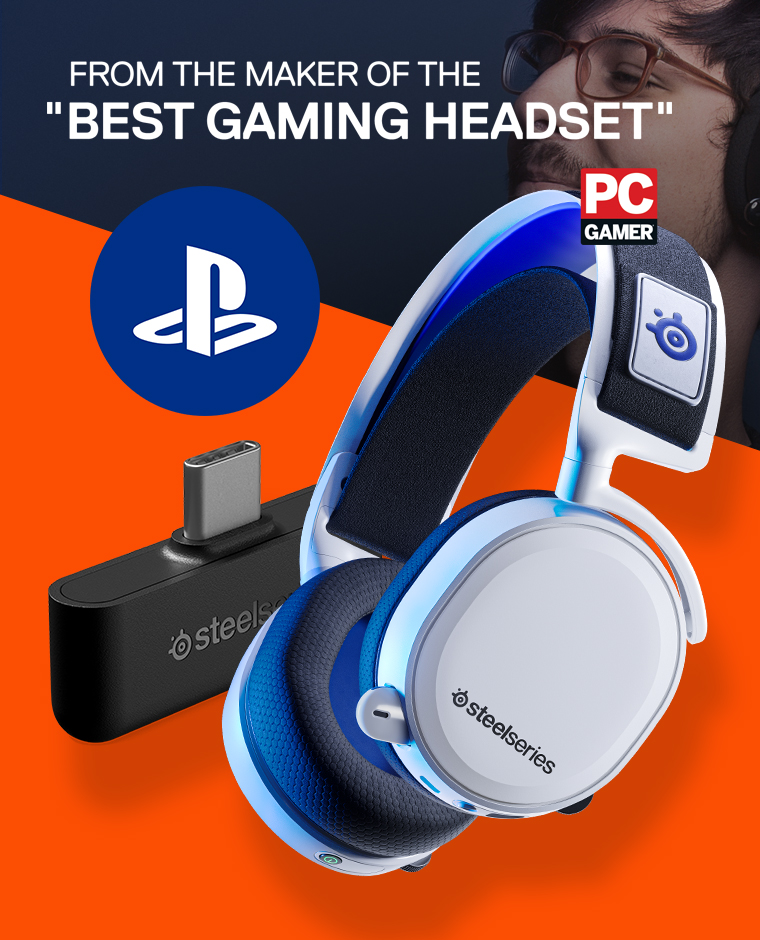 Köp Arctis 7P Playstation 5 Headset hos MaxGaming.se