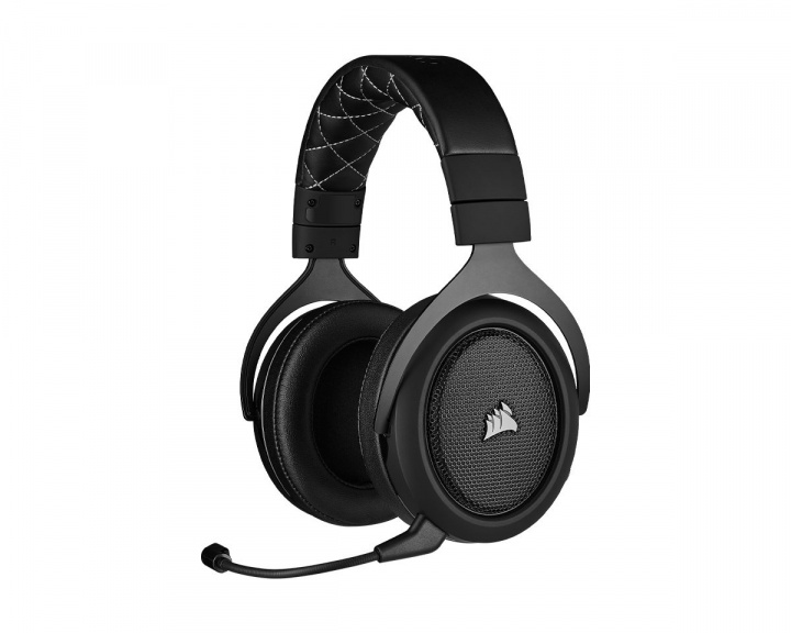 Gaming HS70 PRO Gaming Headset Carbon i gruppen Datortillbehör / Headset & Ljud / Gaming headset / Trådlösa hos MaxGaming (15281)