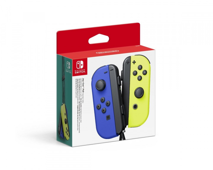 Joy-Con Pair Blue/Yellow i gruppen Konsol / Nintendo / Switch Tillbehör / Handkontroll hos MaxGaming (16400)