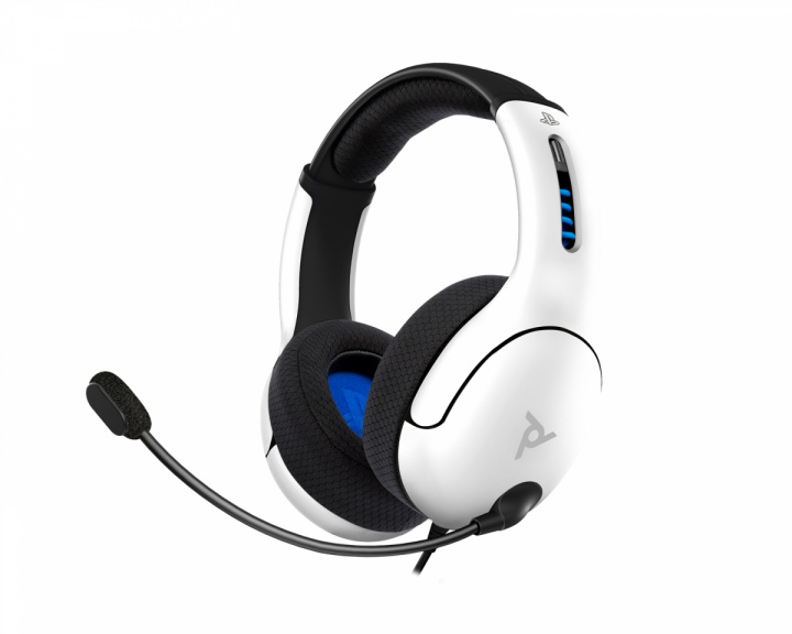 Gaming LVL50 Stereo Headset (PS4/PS5) Vit i gruppen Konsol / Playstation / PS5 Tillbehör / Headsets hos MaxGaming (17609)